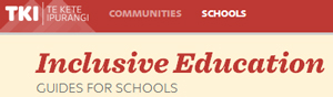 Inclusive Education Guide for Schools wordmark