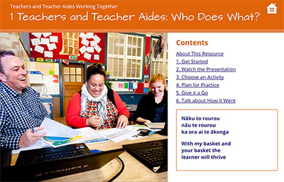1 Teachers and Teacher Aides: Who Does What? cover image