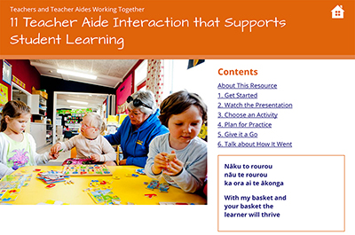 11 Teacher Aide Interaction that Supports Student Learning cover image