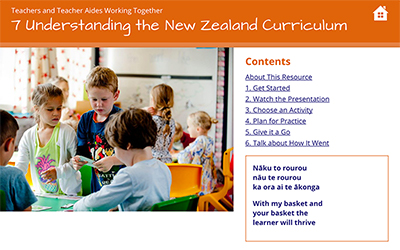 7 Understanding the New Zealand Curriculum cover image