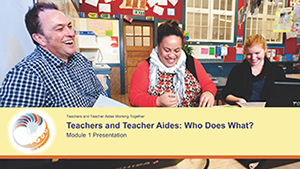 Teacher and Teacher Aides: Who Does What? Module 1 Presentation cover image