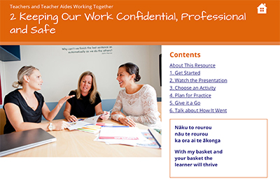 Keeping our work confidential, professional and safe cover image Module 2 Presentation cover image