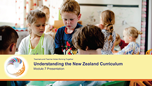 Understanding the New Zealand Curriculum Module 7 Presentation cover image