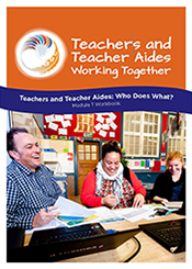 Teachers and Teacher Aides: Who Does What? Module 1 Workbook cover