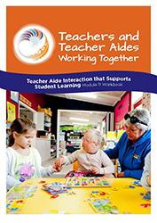 Teacher aide interaction that supports student learning Module 11 Workbook cover image