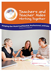 Keeping our work confidential, professional and safe Module 2 Workbook cover image