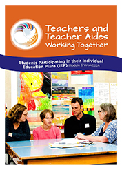 Students participating in their Individual Education Plans (IEP) Module 6 Workbook cover image