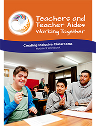 Creating Inclusive classrooms Module 9 Workbook cover image